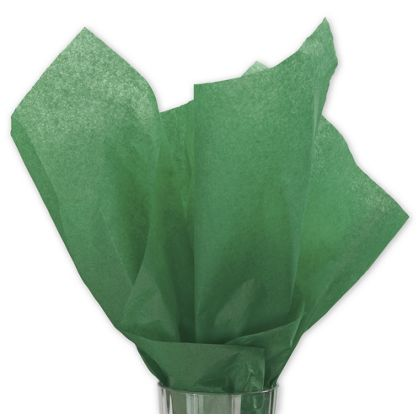 Solid Tissue Paper, Holiday Green, 20 x 30""