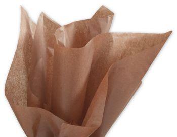 Solid Tissue Paper, Raw Sienna, 20 x 30