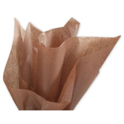 """Solid Tissue Paper, Raw Sienna, 20 x 30"""""""