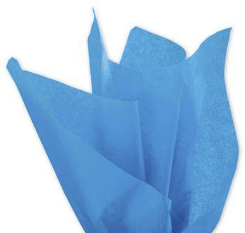 Solid Tissue Paper, Fiesta Blue, 20 x 30