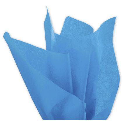 """Solid Tissue Paper, Fiesta Blue, 20 x 30"""""""