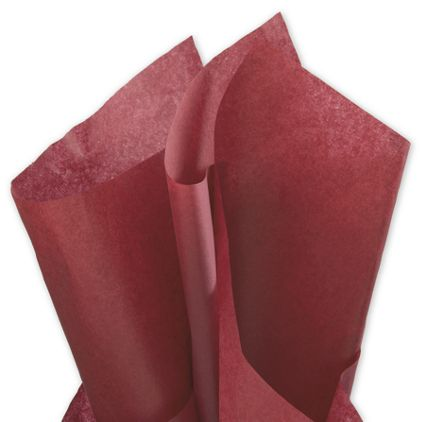 """Solid Tissue Paper, Mulberry, 20 x 30"""""""