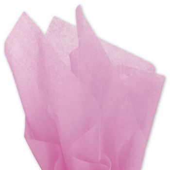 Solid Tissue Paper, Raspberry, 20 x 30