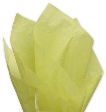 Solid Tissue Paper, Pistachio, 20 x 30