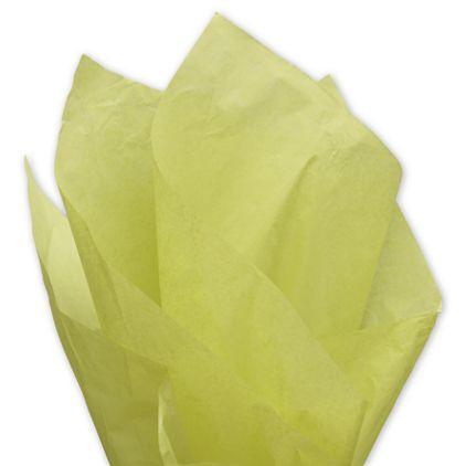 """Solid Tissue Paper, Pistachio, 20 x 30"""""""