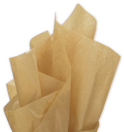 Solid Tissue Paper, Recycled Kraft, 20 x 30""