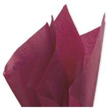 """Solid Tissue Paper, Claret, 20 x 30"""""""