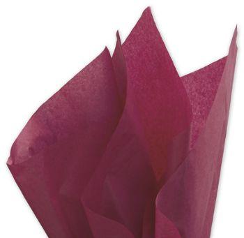 Solid Tissue Paper, Claret, 20 x 30