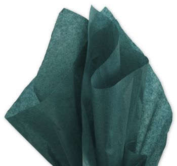 Solid Tissue Paper, Hunter Green, 20 x 30
