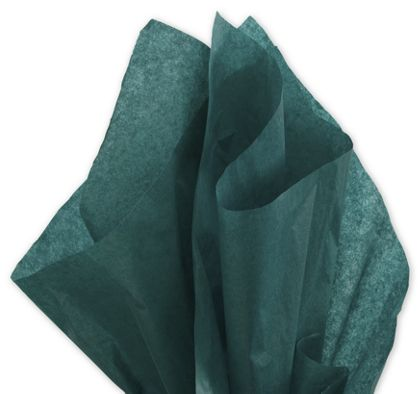 Solid Tissue Paper, Hunter Green, 20 x 30""