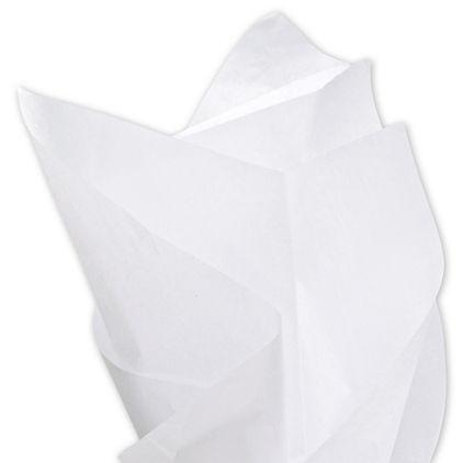 "Solid Tissue Paper, White, 20 x 30"""