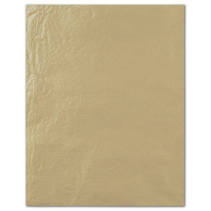Double Sided Gold Pearlesence Tissue Paper, 20 x 30""