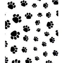 """Puppy Paws Tissue Paper, 20 x 30"""""""