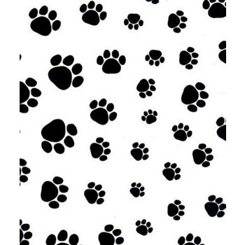 Puppy Paws Tissue Paper, 20 x 30