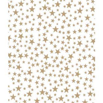 Gold Stars Tissue Paper, 20 x 30