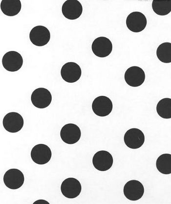 Black Dots on White Tissue Paper, 20 x 30