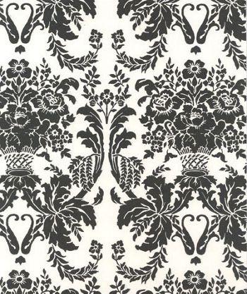 Onyx Damask Tissue Paper, 20 x 30