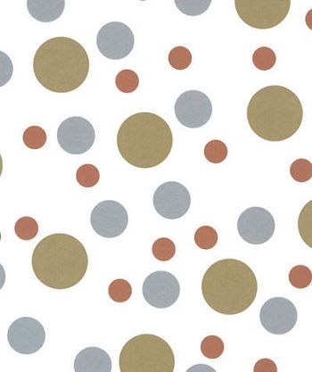 Metallic Dots Tissue Paper, 20 x 30