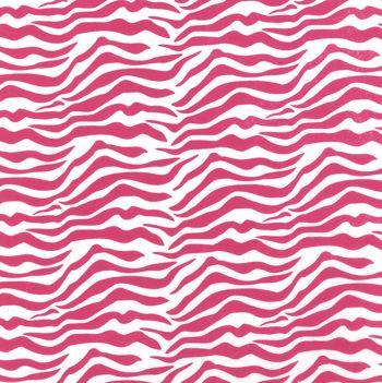 Zebra Pink Tissue Paper, 20 x 30