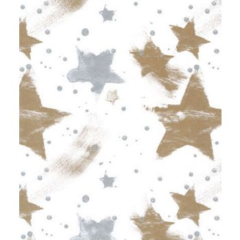 Silver & Gold Celebration Tissue Paper, 20 x 30