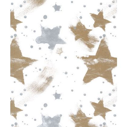 Silver & Gold Celebration Tissue Paper, 20 x 30""