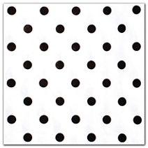 """Black Dots On White Tissue Paper, 20 x 30"""""""