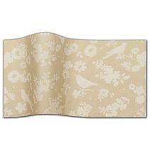 "Backyard Blossoms Tissue Paper, 20 x 30"""