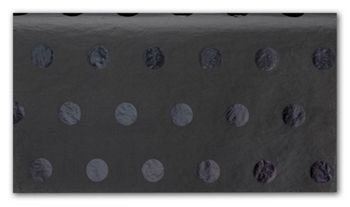 Black on Black Hot Dots Tissue Paper, 20 x 30