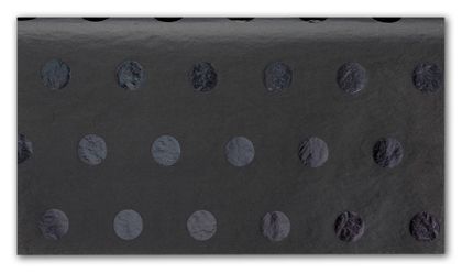Black on Black Hot Dots Tissue Paper, 20 x 30""