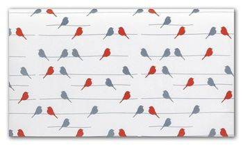 Birds on a Wire Tissue Paper, 20 x 30