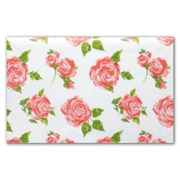 Cottage Rose Tissue Paper, 20 x 30