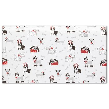 Dapper Dogs Tissue Paper, 20 x 30""