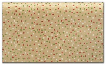 Holiday Dots Tissue Paper, 20 x 30