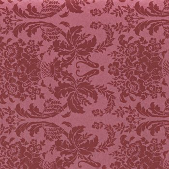 Pompeian Red Damask Tissue Paper, 20 x 30