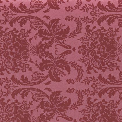 Pompeian Red Damask Tissue Paper, 20 x 30""