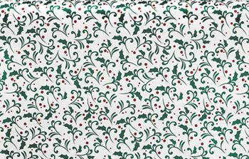 Deck the Halls Tissue Paper, 20 x 30