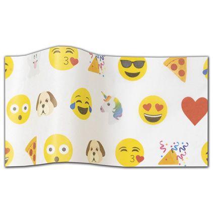 """Emoji Tissue Paper, 20 x 30"""""""