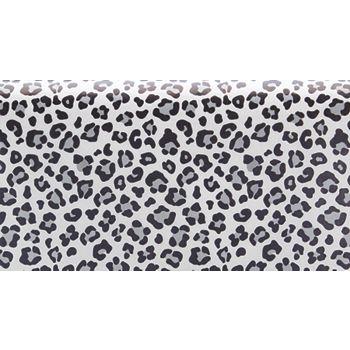 """Grey Leopard Tissue Paper, 20 x 30"""""""