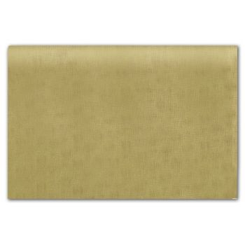 Embossed Gold Linen Tissue Paper, 20 x 30