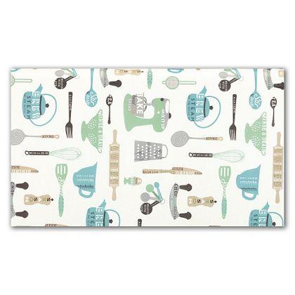 """Grandma's Kitchen Tissue Paper, 20 x 30"""""""
