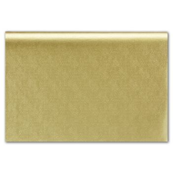 Embossed Gold Swirls Tissue Paper, 20 x 30