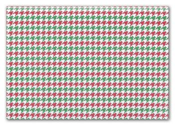 Holiday Houndstooth Tissue Paper, 20 x 30
