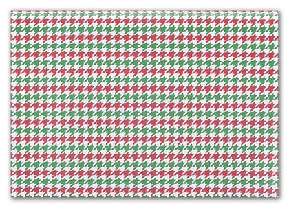 Holiday Houndstooth Tissue Paper, 20 x 30""
