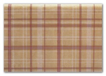 Holiday Plaid Tissue Paper, 20 x 30