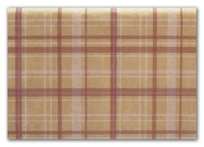 Holiday Plaid Tissue Paper, 20 x 30""