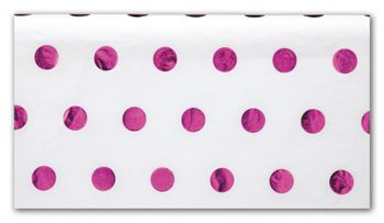Hot Pink Hot Dots Tissue Paper, 20 x 30