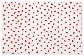 Contemporary Hearts Tissue Paper, 20 x 30
