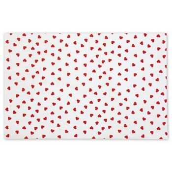 "Contemporary Hearts Tissue Paper, 20 x 30"""