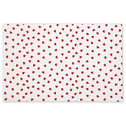 Contemporary Hearts Tissue Paper, 20 x 30""