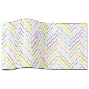 "Lotsa Dots Tissue Paper, 20 x 30"""